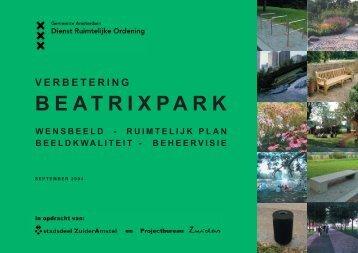 BEATRIXPARK - M·11 stedenbouw en openbare ruimte