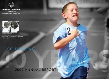 2009 Annual Report - Special Olympics of Connecticut