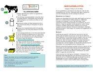 Margarinbluffen - en A5 folder - KOST-DEMOKRATI.se