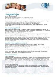 Jeugdpuistjes - GGD Zeeland