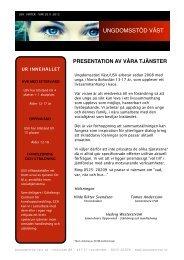 Presentation av våra tjänster finns att hämta här som PDF fil