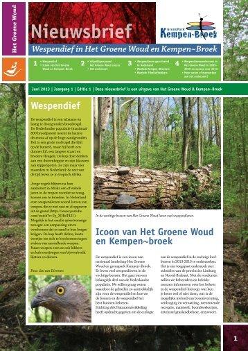 nieuwsbrief - ARK Natuurontwikkeling