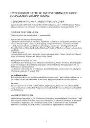 Verksamhetsberättelse 2007 - S-info