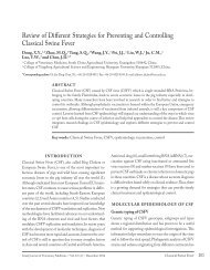 Review of Different Strategies for Preventing and Controlling ...