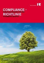 compliance - Richtlinie