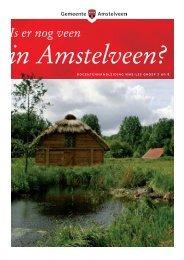 Is er nog veen in Amstelveen? - De Digitale NMEGids