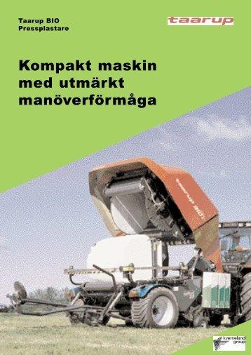 Hämta produktblad - GJ Maskin AB