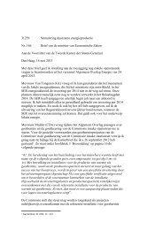 31239 Stimulering duurzame energieproductie Nr. 166 Brief ... - Liigl