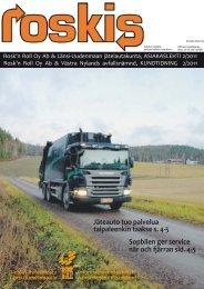 Roskis -asiakaslehti 2/2011 - Rosk'n Roll Oy Ab