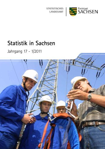 Statistik in Sachsen, 1/2011, Seite 54 - Statistik - Freistaat Sachsen