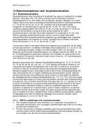 13 Rekommandationer vedr. brystrekonstruktion - DBCG
