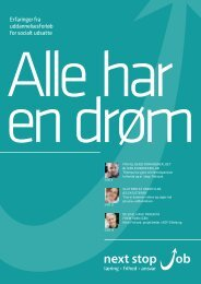 Klik her for at hente magasinet (PDF 1.900 kb) - next stop job