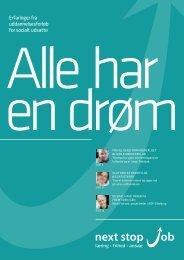 Klik her for at hente magasinet (PDF 1.900 kb) - next stop job