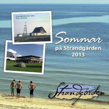 Program 2013 - Strandgården