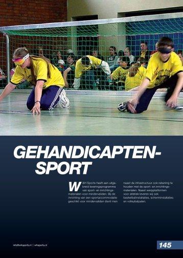 Gehandicaptensport - W&H Sports