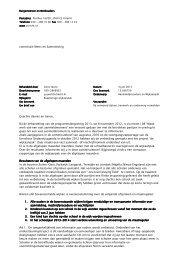 commissiebrief aanmeldprocedure en ... - Gemeente Utrecht