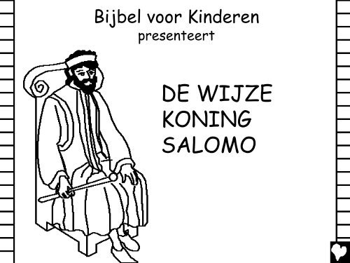 wise king solomon dutch cb - geloven is leuk