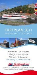 Fartplan - Brochure - Priser