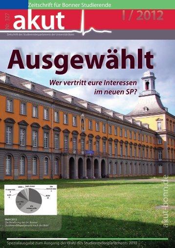 Newsletter 1 - akut online