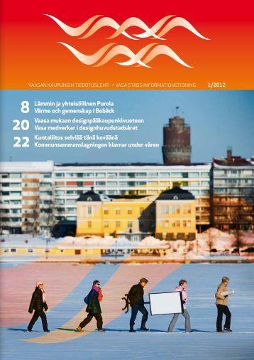 Vaasa mukaan designpääkaupunkivuoteen Vasa medverkar i ...