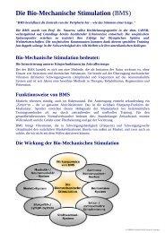 Die Bio-Mechanische Stimulation (BMS) - ATLASBALANCE
