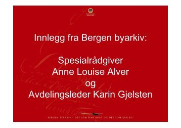 Kari Gjelsten: Ingen objekt utan digitalisering (pdf)