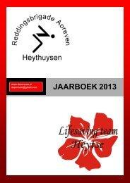 JAARBOEK 2012 - RB Aoreven Heythuysen