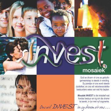 Brochure 2011 Version 1 - Mosaiek