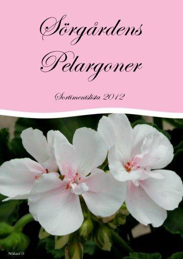 Sörgårdens Pelargoner
