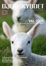 no 3 2006.indd - Djurskyddet Sverige