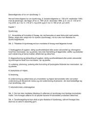 Bekendtgørelse af lov om dyreforsøg 1) - Aktive Dyrevenner