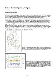 Øvelse 5 - Luftens temperatur og fugtighed - rgsj