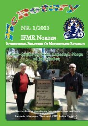 McRotary nr. 1/2013 - IFMR Norden