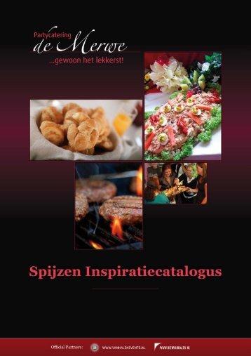 download brochure - Partycatering de Merwe