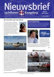 1/2013 - Jachthaven Kaagdorp
