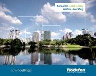 Rock-solid sustainability (PDF) - Rockfon