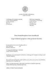 Stora bostadsfastigheter inom strandskydd - Fastighetsvetenskap ...