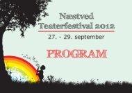 online program - Næstved Teaterfestival