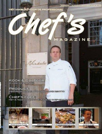 Kook & Cultuur Product: Chef's chef: Chef'sM ... - Uitgeverij Vizier