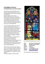 programma 8 januari flyer - Scheepjeskerk