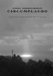 November - December 2011 - Circumplaudo