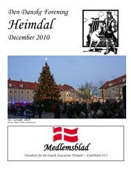 Medlemsblad - The Danish Club in Brisbane, Australia