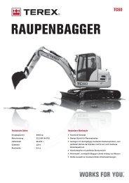 RAUPENBAGGER - ATLAS MECKLENBURG