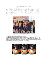 denne pressemeddelelse - Odder Cykel Klub