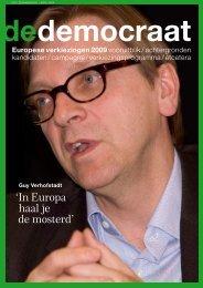 'In Europa haal je de mosterd' - D66.nl