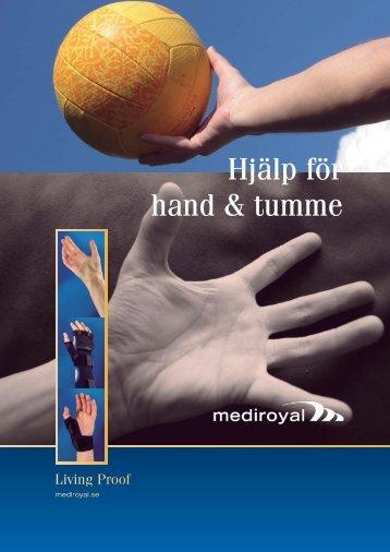 Hjälp för hand & tumme - Ortosupport