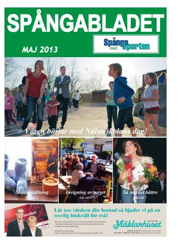 MAJ 2013 Våren börjar med Nälstaskolans dag! - spanga-ff.se