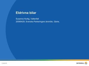 Eldrivna bilar Vattenfall.pdf - Svepark