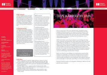 DIMS JAARBERICHT 2008 - EWS