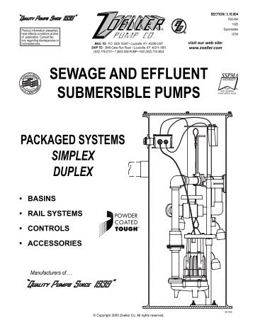 how to clean a sewage pump for your sewage system